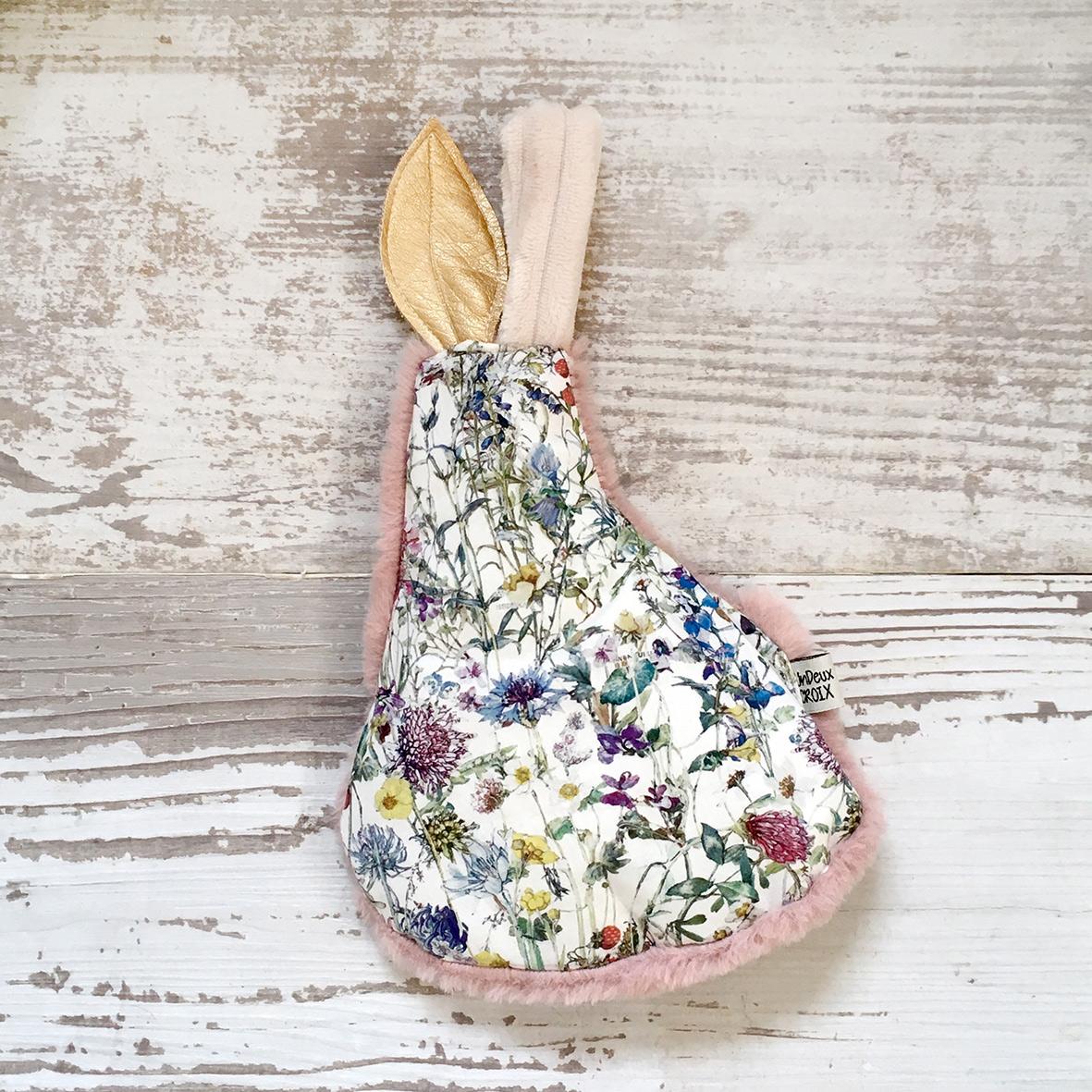 BOUILLOTTE SECHE - POIRE liberty wild flowers