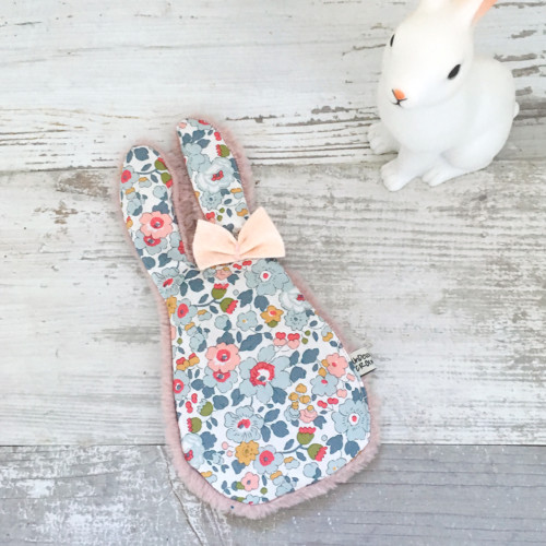 BOUILLOTTE SECHE - LAPIN liberty betsy porcelaine